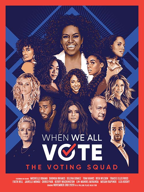 When We All Vote – Group Poster